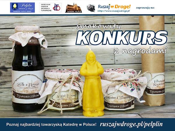 Pelplińskie Specjały - konkurs na Ruszaj w Drogę