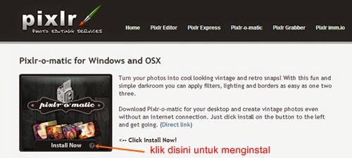 download aplikasi Pixlr-o-matic