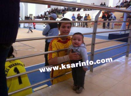 البطولة الجهوية المدرسية لكرة اليد: اصغر مشجع
