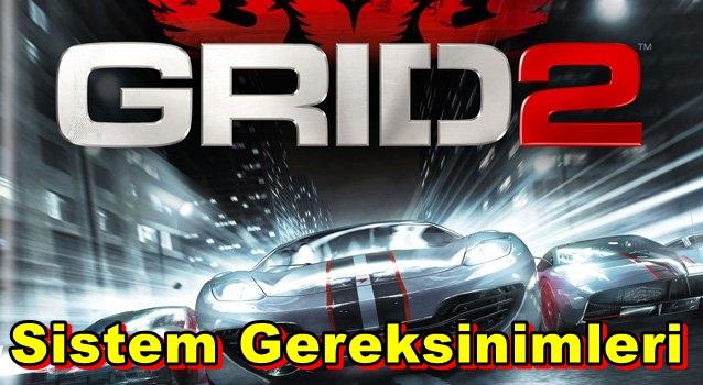 Grid Racedriver 2 PC Sistem Gereksinimleri