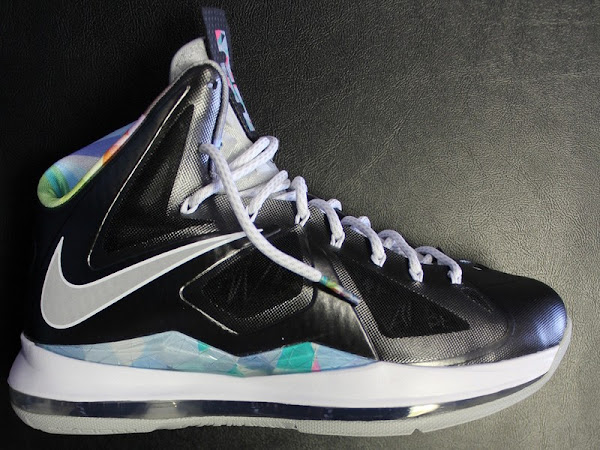A Look at Nike LeBron X PRISM That8217s Arriving at Retailers