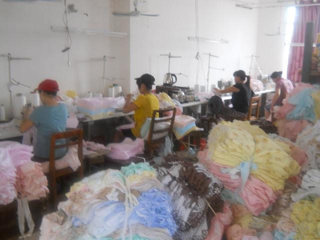 Baby clothing factory, China