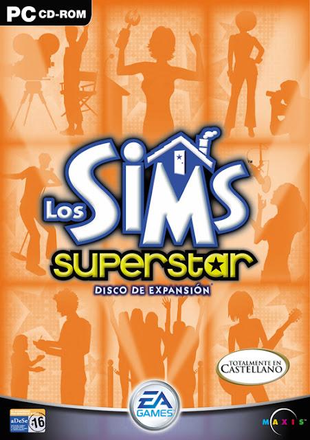 Caratulas Los Sims Superstar