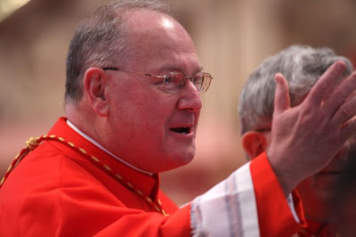 Cardinal Dolan of New York says Obama administration seeks to divide Catholics