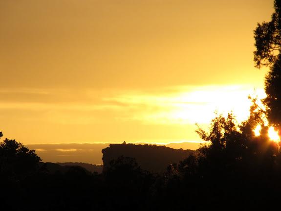 Sunset on Wednesday