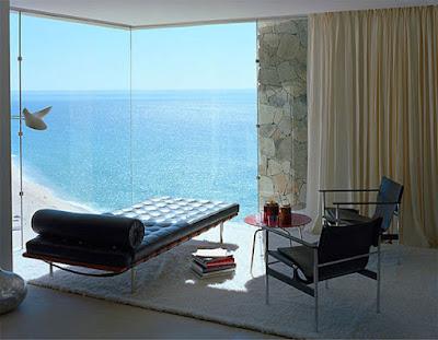 Casa Finisterra 13 Rumah Minimalis Indah Di Tebing Batu