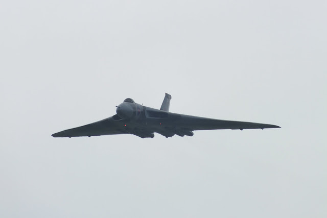 The Vulcan at Leuchars Airshow 2011