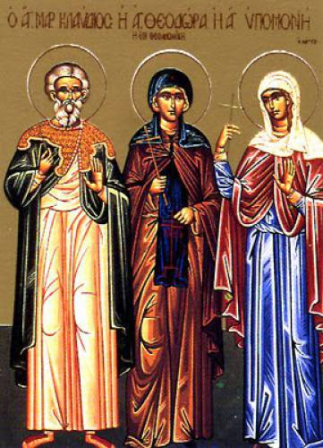Venerable Theodora Of Thessalonica