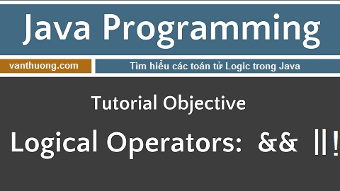 Tìm hiểu về toán tử Logic trong Java