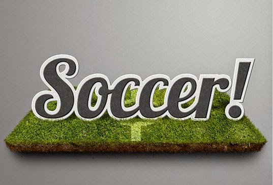 soccer text effect