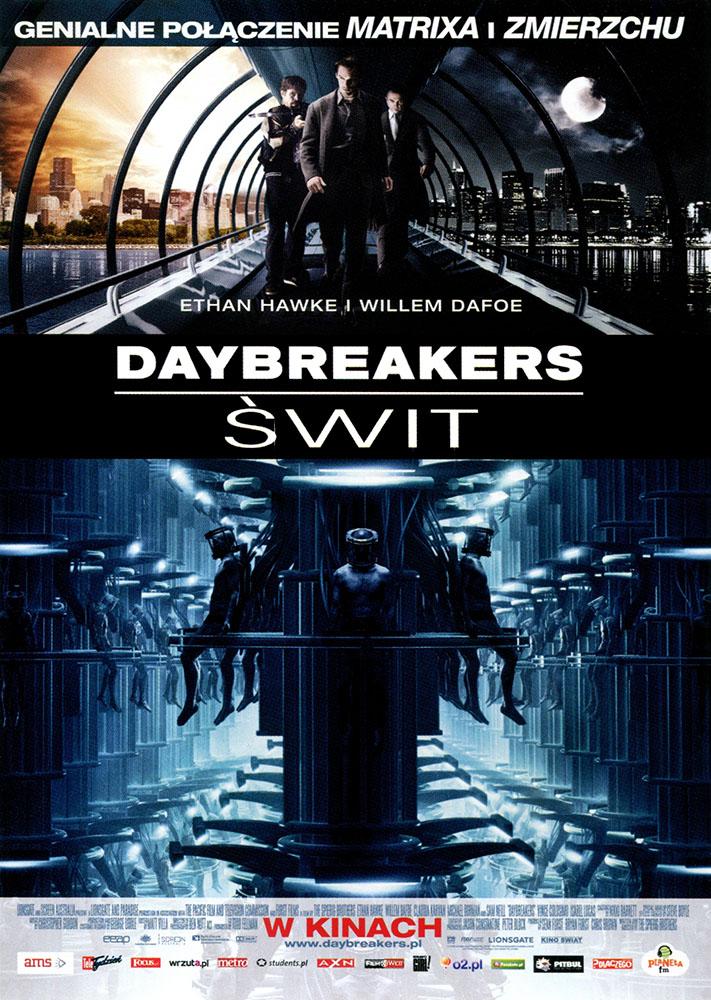 Ulotka filmu 'Daybreakers - Świt (przód)'