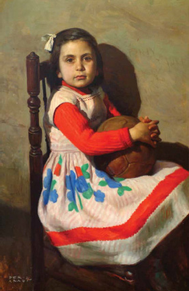 """Xiqueta del balón"". José Peris Aragó"