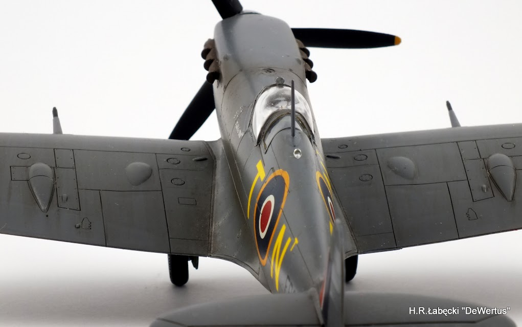 Malta 1940-43, Spitfire Mk.Vb, 249 Sqn RAF, Tamiya 1/48 DSCF4182