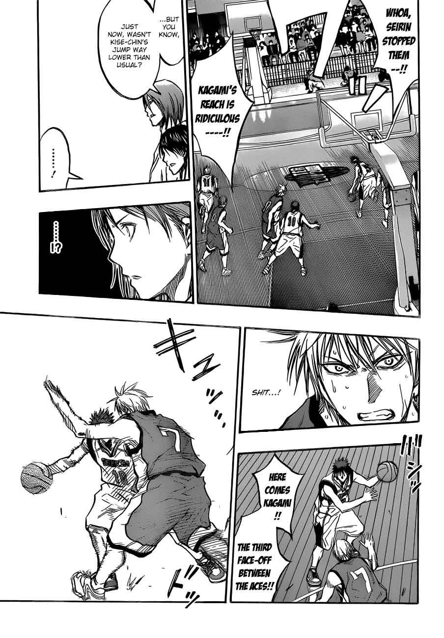 Kuroko no Basket Manga Chapter 190 - Image 07