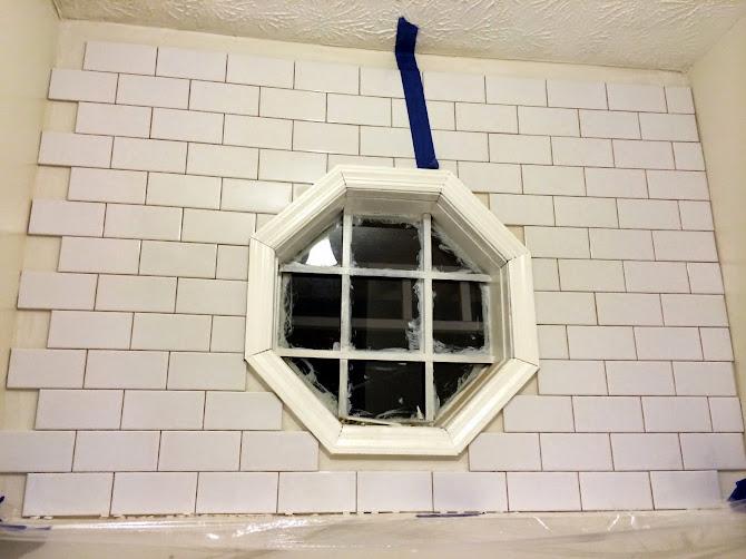 laundry room tile backsplash