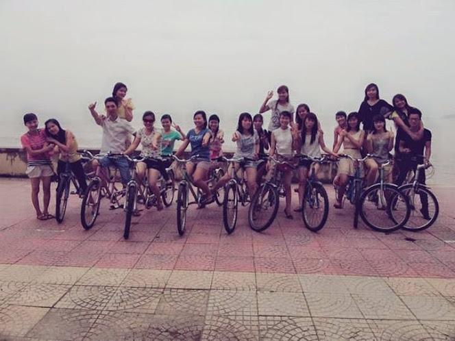 kinh nghiệm du lich Nha Trang khi thuê xe đạp đôi