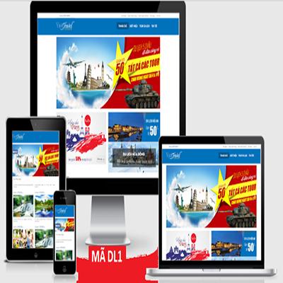 Thiết kế web du lịch tour