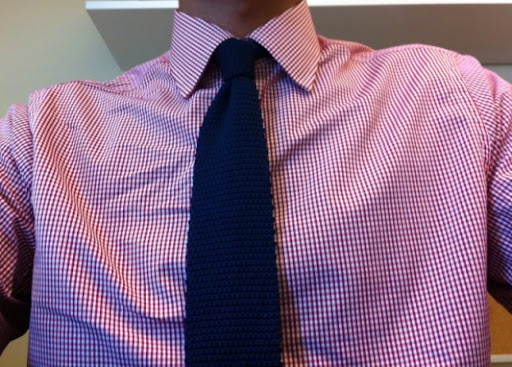 Help matching tie w gingham shirt page 2 for Matching ties with shirts
