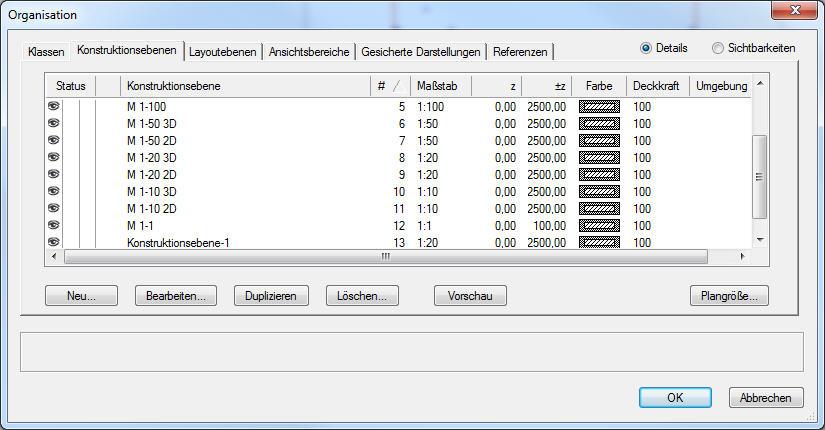 Programmstruktur in Vectorworks