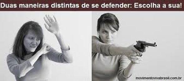 Resultado de imagem para mulheres a favor do armamento