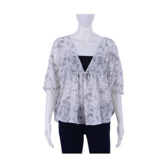 Lazada Chictees Mae Shirt (Glitzy White)