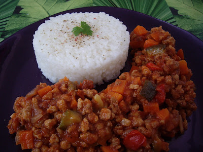Boloñesa vegetal con soja texturizada utilizando Thermomix o sin TM31! cocina fácil
