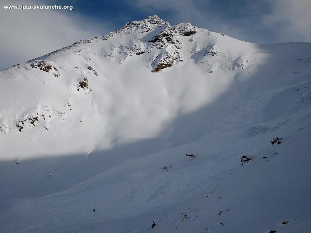 Avalanche Haute Tarentaise, secteur Col de l'Iseran, Signal ; secteur des Grands Vallons - Photo 1