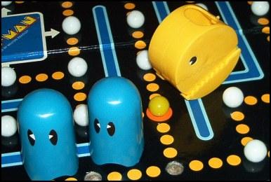 el juego de mesa de pac-man