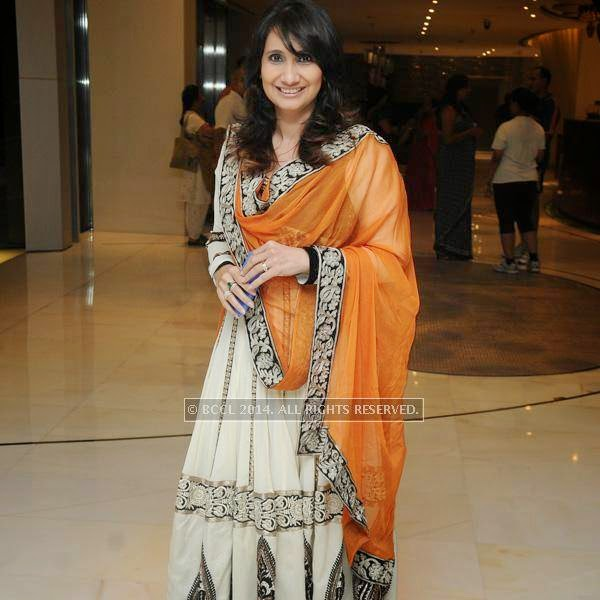 Laila Khan during an Iftaar party, hosted by The Times of India and The Park, Hyderabad.