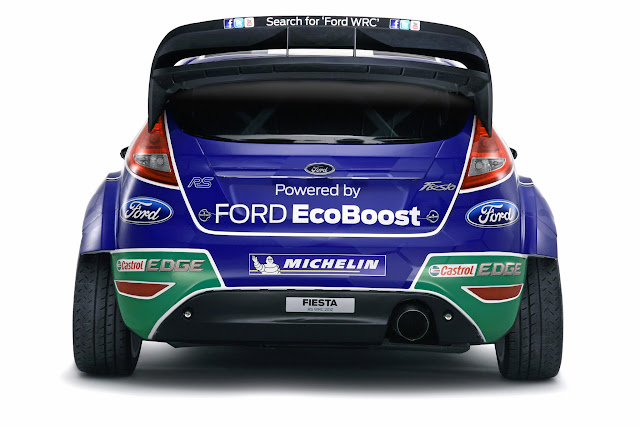 Ford Fiesta RS World Rally Car 2012
