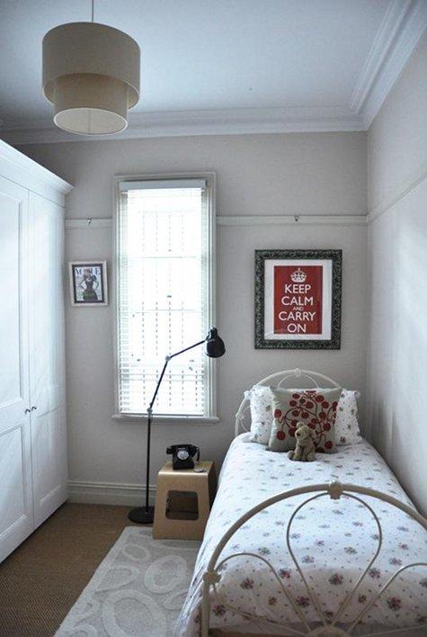 Decoração de um quarto pequeno O Mundo de Calíope ~ Quarto Pequeno Tamanho