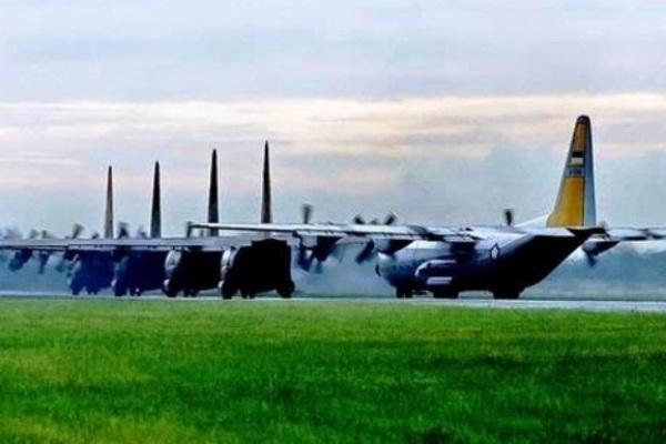 C-130 Hercules. PROKIMAL ONLINE Kotabumi Lampung Utara
