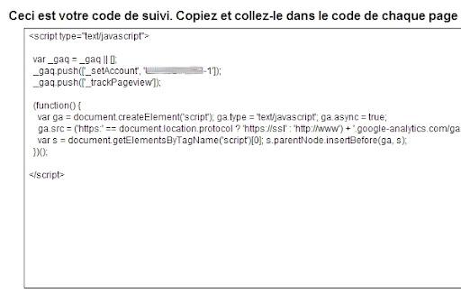 Script avec ID de suivi