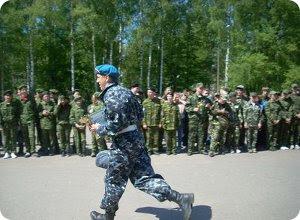 Тверские школьники борются за победу в игре «Орлёнок»