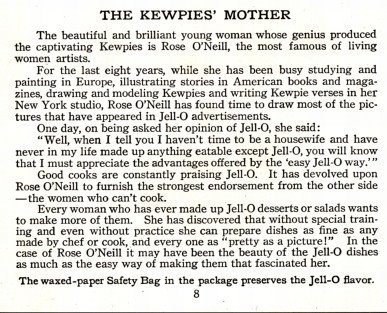 Rose O'Neill; The Kewpies' Mother
