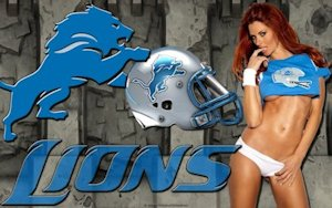 Detroit Lions Sexy Wallpaper
