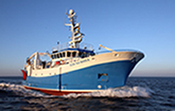 image of fisheries research vessel