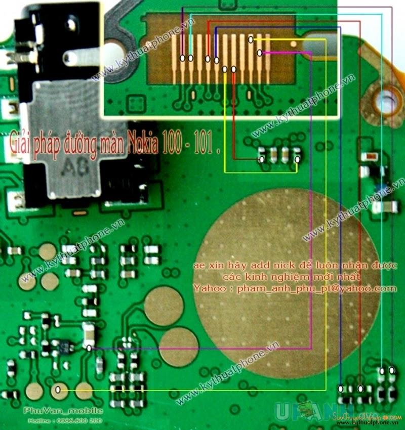 Link 1: Click To Enlarge Link 2: Bấm Để Xem Link 3: View Full Size Câu màn  hình nokia n100 n101 lcd ways solution