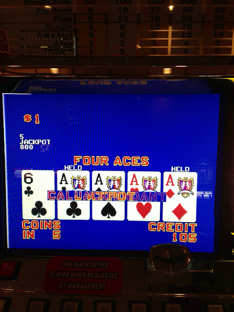 Four Aces Double Double Bonus Video Poker