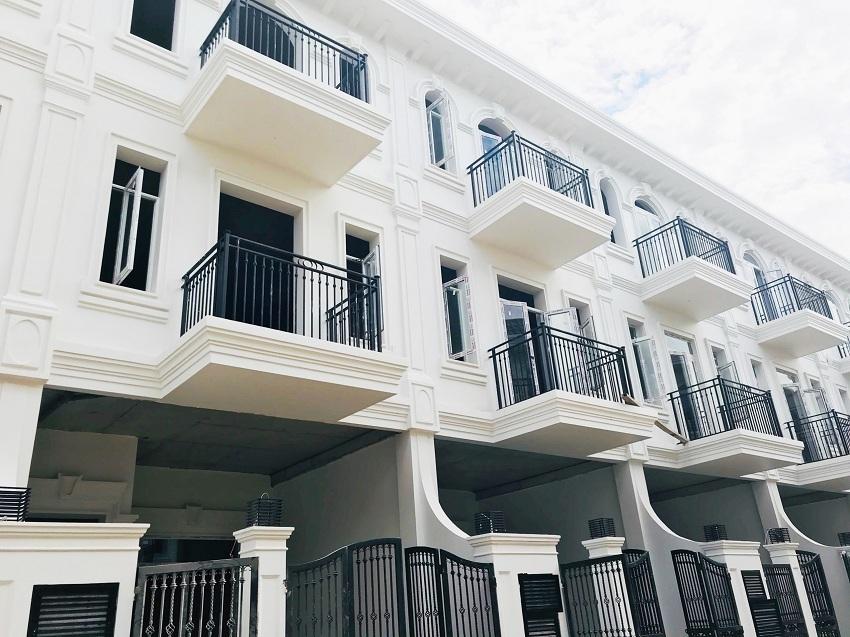 Hạ tầng hoàn thiện tại Phú Gia Compound
