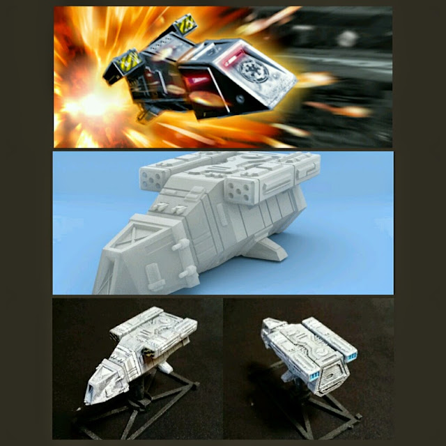 DX-9 Transport de Mel Miniatures