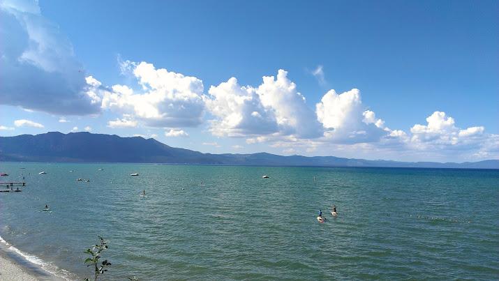 Les berges de Tahoe
