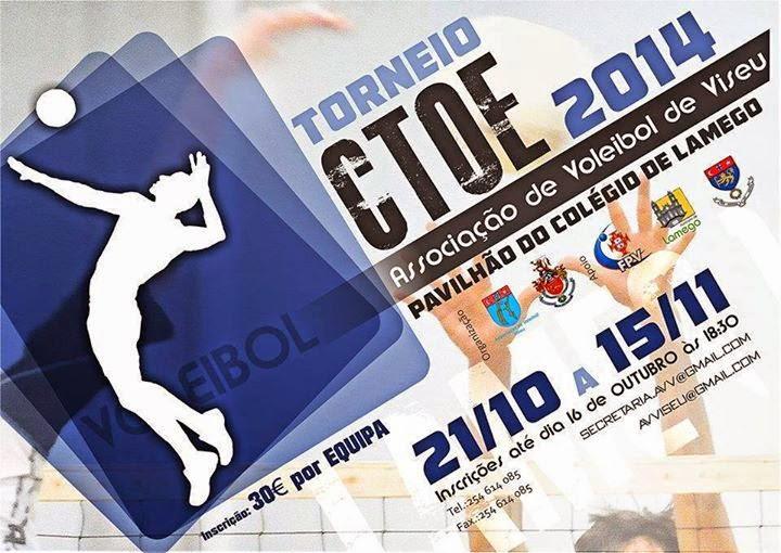 Torneio de voleibol do CTOE 2014 - Lamego