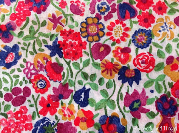 Kaylie Sunshine print by Liberty of London