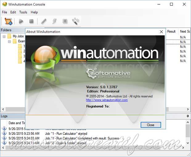 WinAutomation 5.0