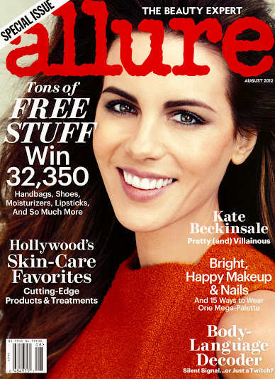 Allure US August 2012- Kate Beckinsale