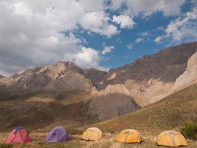 Primer campament a Pınarbaşı