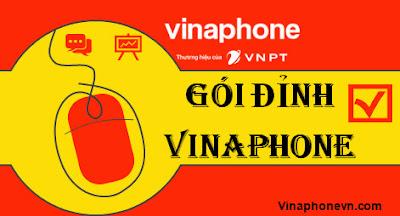 Cách Đăng ký gói Đỉnh D60G,  D30G, D15G Vinaphone, 4G Không giới hạn