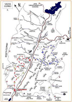 Traseu: Poiana Beletina, Crovul Mare, Cheile Tamnei