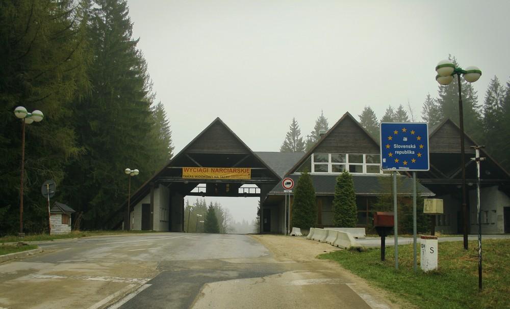 Przejcie graniczne Przełęcz Glinne